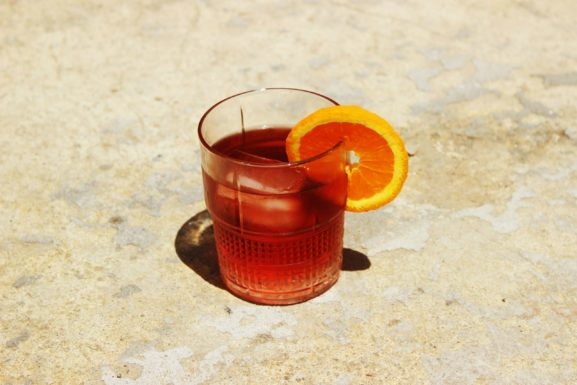 Vermouth Negroni Cocktail